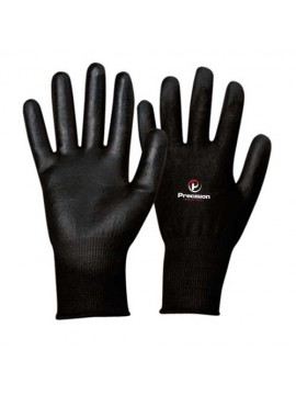 Black PU Coated Gloves